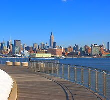 View From Pier C Hoboken NJ by pmarella