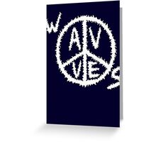 S.WavvesPeace Greeting Card