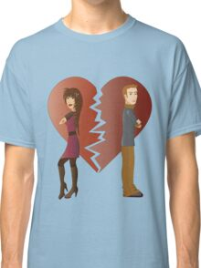 Couple with broken heart  Classic T-Shirt