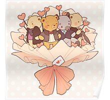 bearlock bouquet Poster