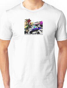 4TH AVENUE Pop-Art small for T-shirts Unisex T-Shirt