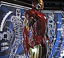 Iron Man at Madame Tussauds in NYC by Jane Neill-Hancock