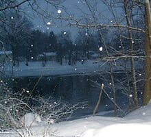 Passaic River In The Winter by Jane Neill-Hancock