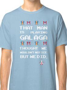 That Man is Playing Galaga! Classic T-Shirt