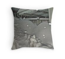 There Must Be A House Under That Snow ? Throw Pillow