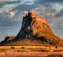 Lindisfarne by English Landscape Prints
