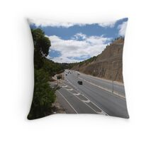 Part Way up the Freeway, through Adelaide Hills. S. A. Throw Pillow