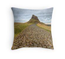 Lindisfarne Castle Throw Pillow