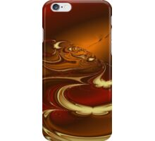 Fractal- Latte iPhone Case/Skin