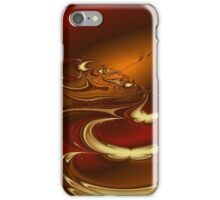 Fractal- Latte iPhone Case/Skin