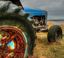 Boulmer Tractor by Stephen Smith
