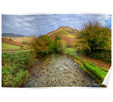 Wasdale Head in Oils Poster