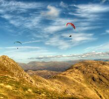 Flying High by English Landscape Prints