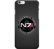 N7 logo iPhone Case/Skin