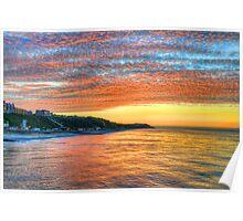 Cromer Sunset Poster