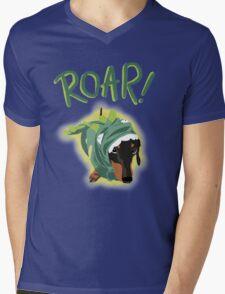 Wienersaurus Mens V-Neck T-Shirt
