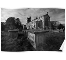 St Andrews Parish Church, Aysgarth Poster