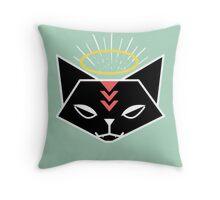 Cat Tribe 01 Throw Pillow