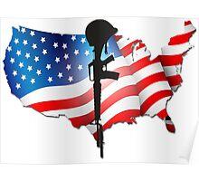 US Veterans Poster