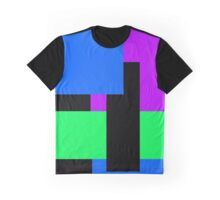 Cool Blocks Graphic T-Shirt