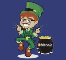 Bitcoin Leprechaun by musability