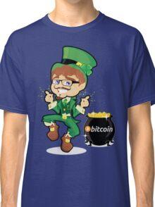 Bitcoin Leprechaun Classic T-Shirt