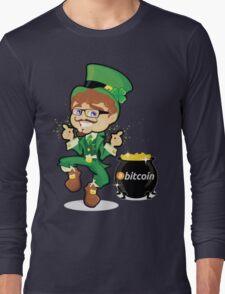 Bitcoin Leprechaun Long Sleeve T-Shirt