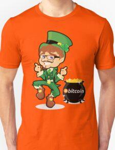 Bitcoin Leprechaun Unisex T-Shirt