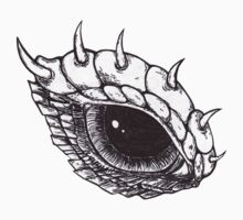Dragon Eye - Left by BonesToAshes