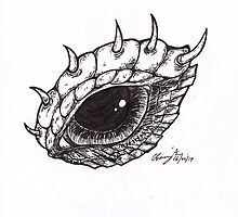 Dragon Eye - Right by BonesToAshes
