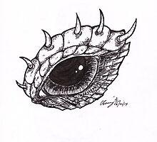 Dragon Eye - Right by BonesToAshes