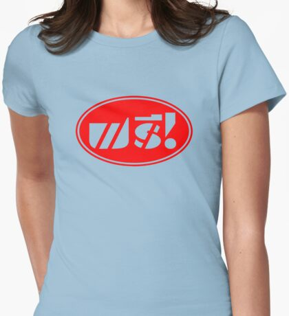Free Price Tag ★ Thai Language Script ★ Womens Fitted T-Shirt