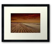 St Andrews Beach Framed Print