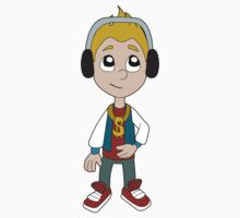 Hip hop boy cartoon Kids Tee