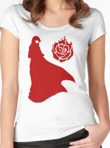 RWBY little red Women's Fitted Scoop T-Shirt