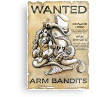 Arm Bandits Metal Print