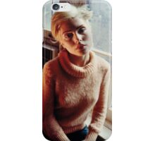 Blondie in heaven iPhone Case/Skin
