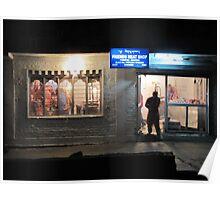 Butchers shop Thimphu  Poster