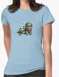 Irate Tortoise Womens Fitted T-Shirt