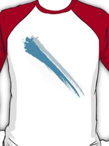 Blue Brush Stroke T-Shirt