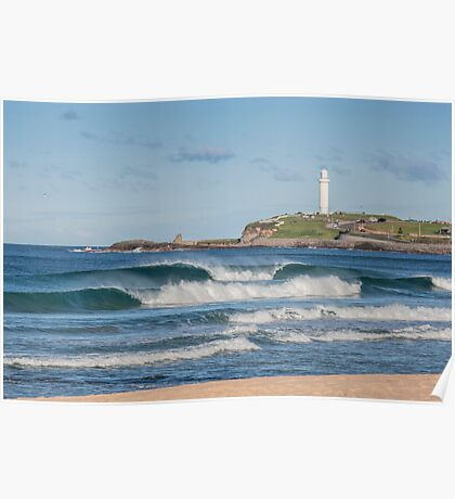 North Wollongong Beach Poster