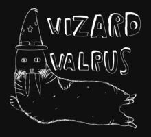 Wizard Walrus (white) by MichaelAshMash