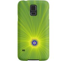 Color Explosion in Green and Yellow Samsung Galaxy Case/Skin