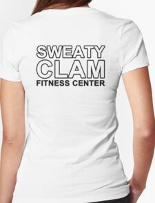 Sweaty Clam Womens Fitted T-Shirt