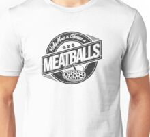 Holy Mac n Cheese n Meatballs (Black) Unisex T-Shirt