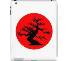 bonsai red sun  iPad Case/Skin