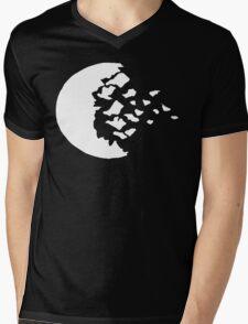 rwby fractured moon white  Mens V-Neck T-Shirt