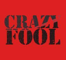 Vintage Look Crazy Fool Van Graphic Kids Clothes
