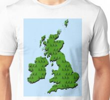 Cycling in Britain Unisex T-Shirt