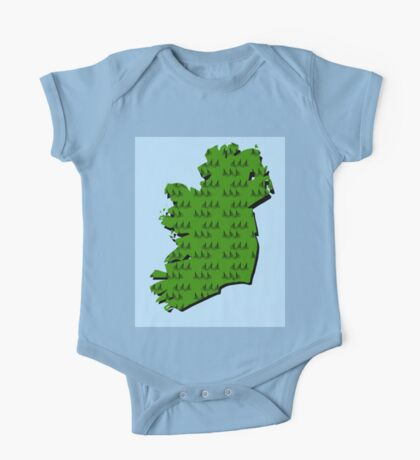Cycling in Ireland One Piece - Short Sleeve